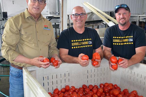 NJDA highlights Jersey Fresh tomatoes