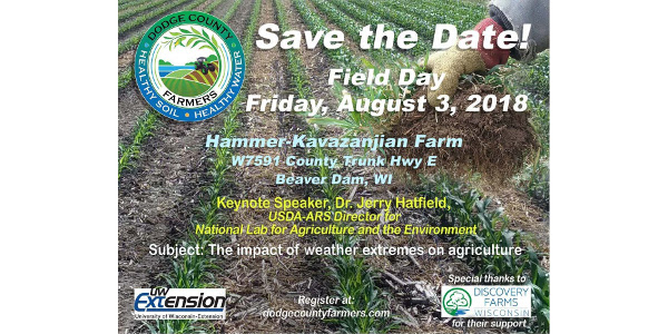 Field day Aug. 3 on the Hammer- Kavazanjian Farm