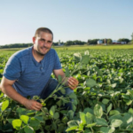 Jon Schaeffer, a second-generation Viborg farmer who chairs the South Dakota Soybean Yield Contest committee and serves on the South Dakota Soybean Association board encourages all South Dakota soybean farmers to enter the 2018 South Dakota Soybean Yield Contest on or before the deadline of August 31, 2018. (Courtesy of SD Soybean)