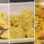 Stages of cornflake processing. (Courtesy of University of Illinois)
