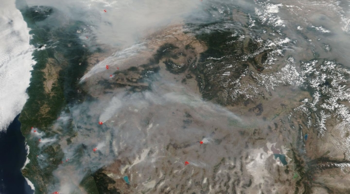Near 2 million acres on fire in the United States