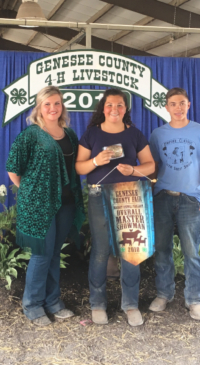 Results from Genesee Co. Fair 4-H Livestock Show