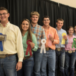 Haydon Schaaf of the Southwind District was the top individual in the 2018 Kansas 4-H Livestock Sweepstakes. (Courtesy of K-State Research and Extension)