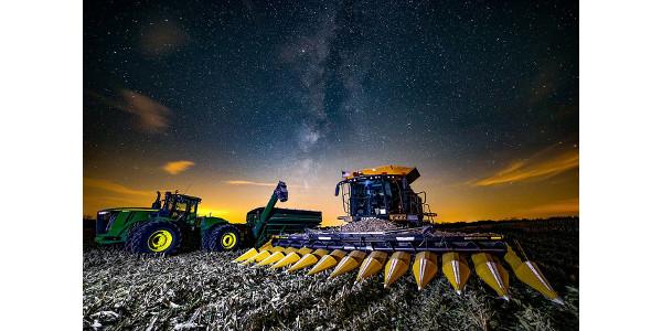 Milky Way Harvest by Tom Jones from Star City, IN. (Overall Winner)