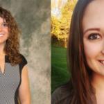 Scholarship recipients Amanda Fairley of Fairbury and Catherine Ripp of Bruno. (Courtesy of Nebraska Farm Bureau Foundation)