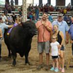 2018 Iowa State Fair Big Bull. (Courtesy of Iowa State Fair)