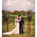 This photo from Allison and Benjamin Engelbrecht's wedding earned the newlyweds the $5,000 grand prize package in the first Kentucky Proud Weddings Contest. (Tod Eltzroth photo courtesy Allison Engelbrecht)