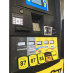 A flex fuel pump at the Bosselman Travel Center in Grand Island, Nebraska, offering E-10, E-15, E-30 and E-85. (Courtesy of Nebraska Corn Board)