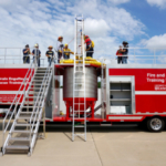 MU Extension's Fire and Rescue Training Institute will showcase grain engulfment safety at the Missouri State Fair from 9 a.m. to 5 p.m. Thursday, Aug. 16, at the Mathewson Exhibition Center in the blacksmith area. MU Extension offers numerous hands-on exhibits in the Agriculture Building throughout the fair. (MU FRTI file photo)