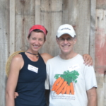 Program participants Julia Slocum (left) and Gary Guthrie (right). (Courtesy of Practical Farmers of Iowa)