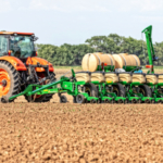 Great Plains is pleased to introduce the PL5500—an 8-row planter that transports under 10' wide and easily fits in tight spaces. (Courtesy of Great Plains)