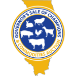 The Parade of Champions is not the end of the road for these winners. On Tuesday, August 14, 2018, the Grand Champion and Grand Champion Land of Lincoln livestock will be sold at 5:00 p.m. in the Governor's Sale of Champions at the Livestock Center. (Courtesy of Illinois State Fair)