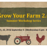 Classes begin August 15 and will continue each Wednesday evening through September 5 (6 p.m. - 8:30 p.m.). Space is limited, so register now for this special series available at no-charge to you. (Screenshot from flyer)