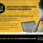 Leadership Online For Today is an interactive program that allows participants to improve communication skills, build relationships and networks, and develop a collaborative project to benefit a community or organization. (Courtesy of University of Missouri Extension)