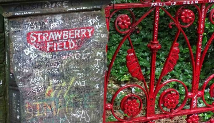 Iconic Strawberry Field will open to the public for the first time ever