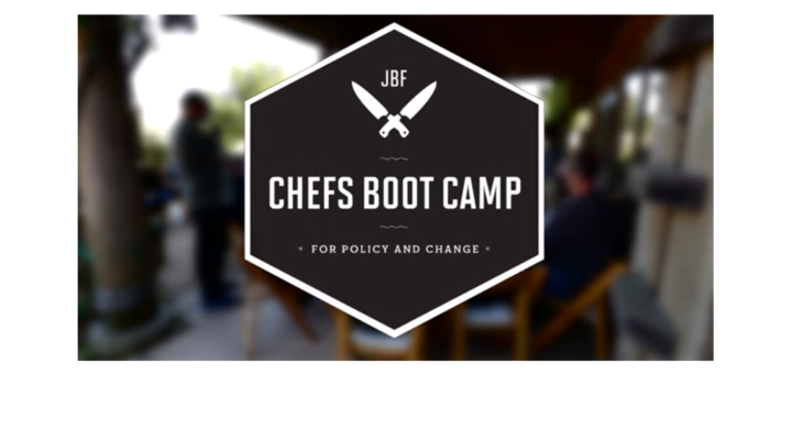 James Beard Foundation hosts Chefs Boot Camp