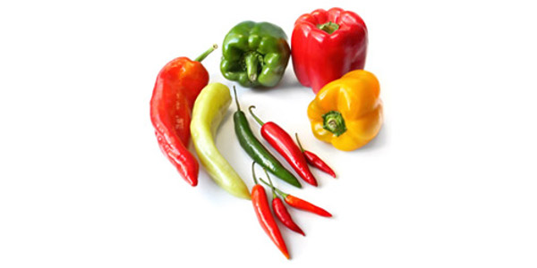 Peppers come in a variety of colors, shapes, sizes and flavors ranging from sweet to spicy hot. (Courtesy of University of Missouri Extension)