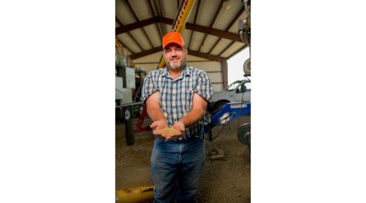 Jeff Wright receives 2018 Wheat Advocate award