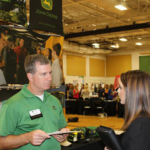 The Purdue University College of Agriculture hosts a career fair every fall and spring semester. (Courtesy of Purdue University)