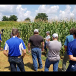 The field schools provide participants with in-depth, hands-on trainings at critical times during the growing season. (Courtesy of University of Kentucky)