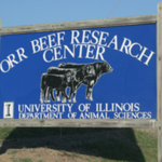 The annual Orr Beef Research Center Field Day will take place at 5 p.m. on Wednesday, Sept. 5. The meeting will be held at the John Wood Ag Center located on State Highway 104 in Baylis. (Courtesy of University of Illinois)