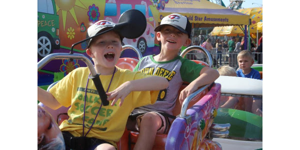 Kids 18 and under are able to enter the Fair for free. A special Kid's Day wristband (available only at the Fair) will be available as well. This wristband will include unlimited carnival rides for $23. (Courtesy of The Clay County Fair & Events Center)
