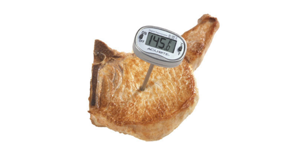 Cooking temperature is nearly all that matters when it comes to a delicious pork chop. (Courtesy of University of Illinois)
