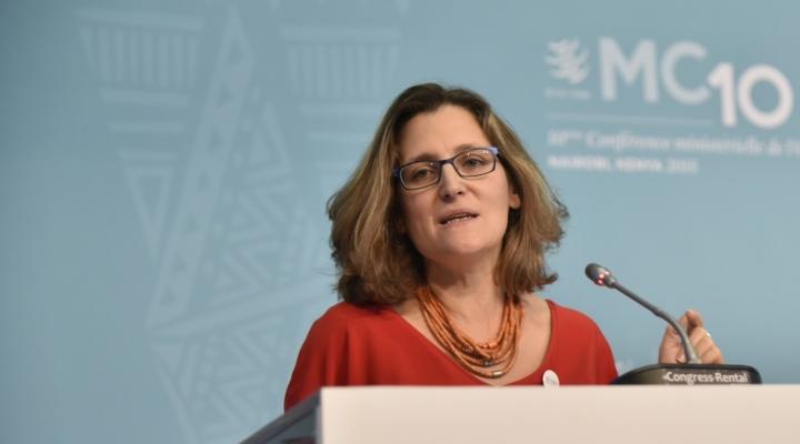 Canadian officials return to NAFTA talks in DC