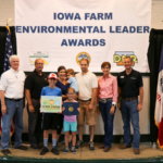 The Brian Keehner family from Clayton County. (Courtesy of Iowa Department of Agriculture)