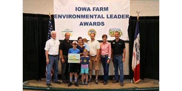66 families receive environmental award