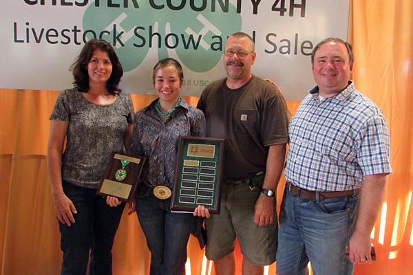 Chester County awards Spirit of 4-H Award   Morning Ag Clips