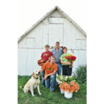 Pheasant Run Farm is a diversified operation that includes row crops, cut flowers, fruits and vegetables, and five different botanical crops raised for the health-food industry. (Courtesy of Practical Farmers of Iowa)