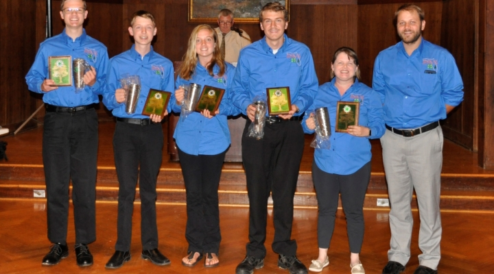 Alachua Co. team wins 3rd in forestry invitational