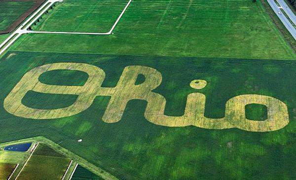 World's largest Script Ohio shows precision ag