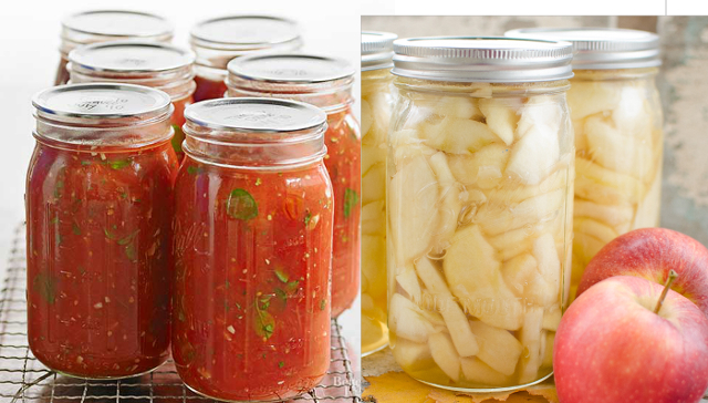 Tomato sauce & apple slice canning workshop