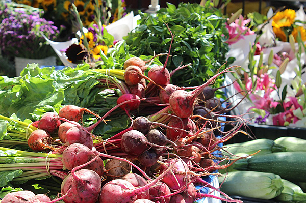 Fresh, local produce perfect for fall gatherings
