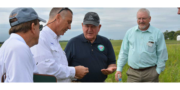 DU, Ag Secretary tour farm bill projects