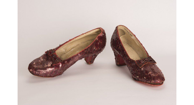 After 13 years, Dorothy's ruby slippers recovered