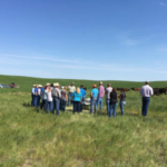 Throughout SDSU Extension's two-year, beefSD program, participants attend eight meetings, tour several successful livestock operations and travel out-of-state to better understand beef production models, the supply chain and consumer's perception of beef production. Recently, 48 South Dakota cattle producers from 28 farming and ranching operations recently completed SDSU Extension's beefSD program. (Courtesy of iGrow.org)