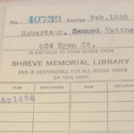 A man has escaped a fine after returning a library book 84 years after it was borrowed. (Shreve Memorial Library via Facebook)