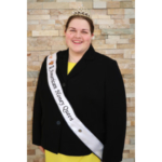 Kayla Fusselman, the 2018 American Honey Queen, will visit Wisconsin Rapids, WI October 29-November 1. (Courtesy of American Beekeeping Federation)