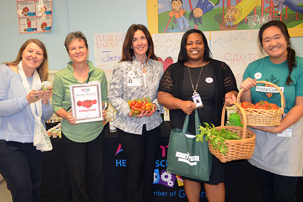 NJDA highlights FoodCorps during school visit
