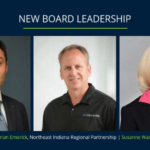 AgriNovus Indiana, the state's initiative to promote and accelerate the growth of the agbiosciences sector, has added new members to its board of directors: Luca Bonini, CEO of Italpollina; Brian Emerick, board representative for the Northeast Indiana Regional Partnership and CEO of MicroPulse; and Susanne Wasson, president of the Crop Protection Business Platform for Corteva Agriscience, the Agriculture Division of DowDuPont. (Courtesy of AgriNovus Indiana)