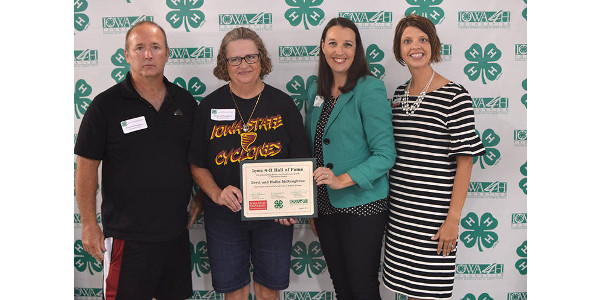 McNaughtons inducted into 4-H Hall of Fame