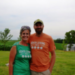 Bill and Stacey Borrenpohl launched Woven Strong Farm in Jackson County in 2011, then joined Practical Farmers of Iowa and enrolled in the Savings Incentive Program shortly after. (Courtesy of Practical Farmers of Iowa)