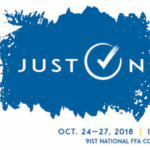 Indianapolis will be buzzing with the excitement of FFA members from all over the country Wednesday, Oct. 24 – Saturday, Oct. 27.