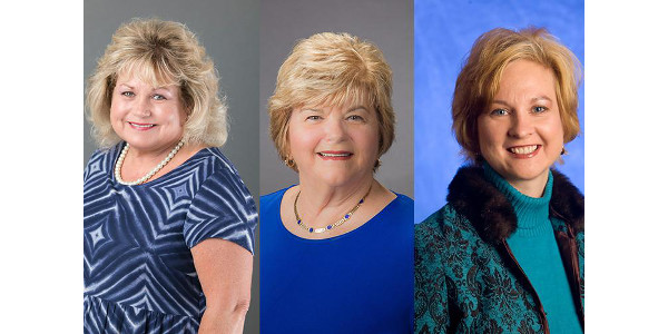 2018 HES Hall of Fame inductees include Marilyn Edwards-Barrick, Gerri Miracle and Amy VanMeter. (Courtesy of University of Kentucky)