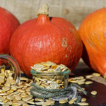 From whole pumpkins to just the seeds, the season is here! Try Roasted Pumpkin Seeds this fall! (Photo by: Pixabay.com Artists)
