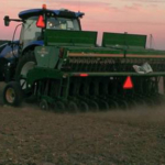 The weather this fall 2018 has not been favorable for seeding all of Michigan's winter wheat acreage. (Photo by Martin Nagelkirk, MSU Extension)
