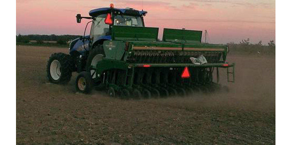 Planting wheat late this fall